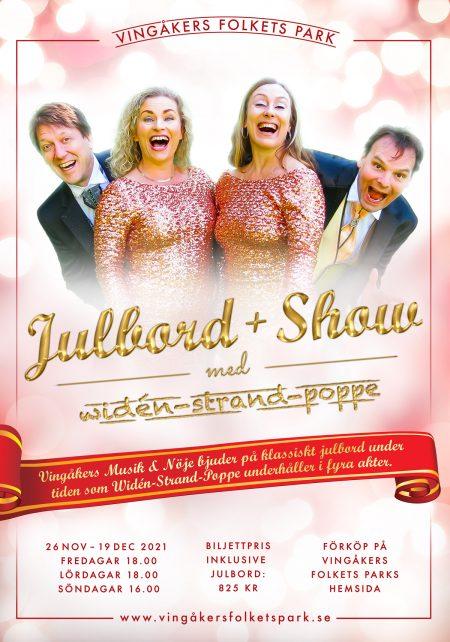 Julbord + Show 2021