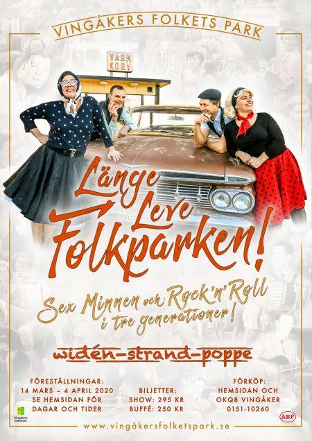 Länge-Leve-Folkparken-2020-Affisch
