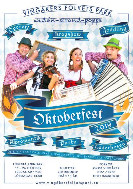 Oktoberfest 2019 Affisch